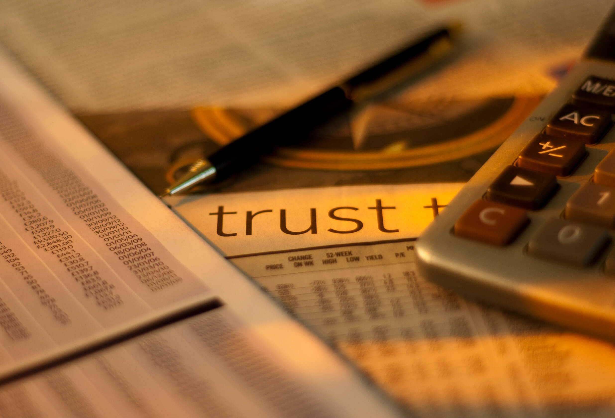 trusts are not for millionaires