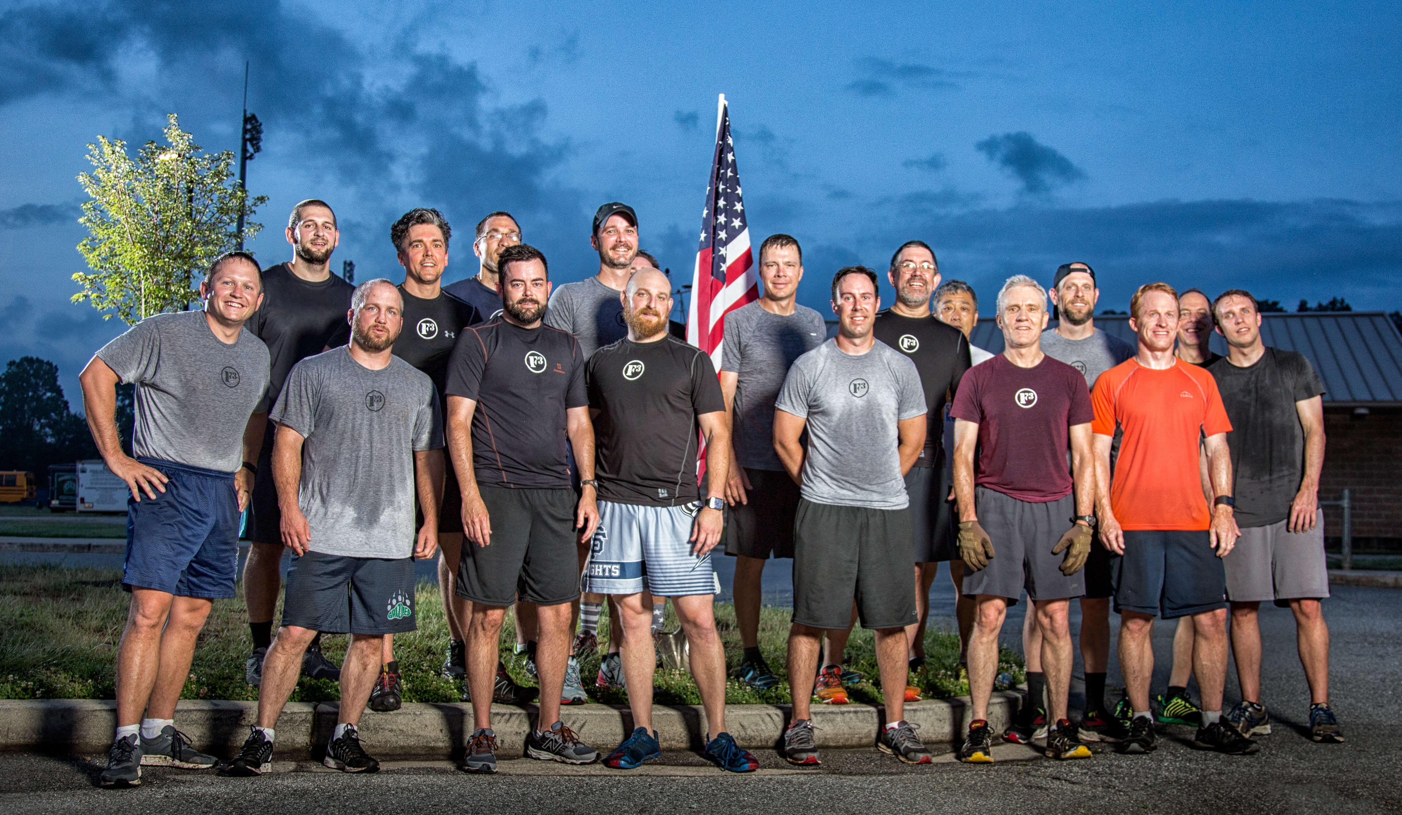 F3 : Fitness, Fellowship and Faith