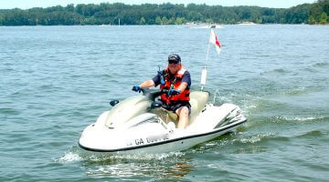 Flotilla 22 Protects and Educates Allatoona Boaters