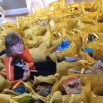 Rob's Rescues Prepares Blessing Bags