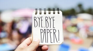 Say #ByeByePaper with New System
