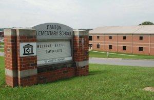 Canton Elementary School around canton