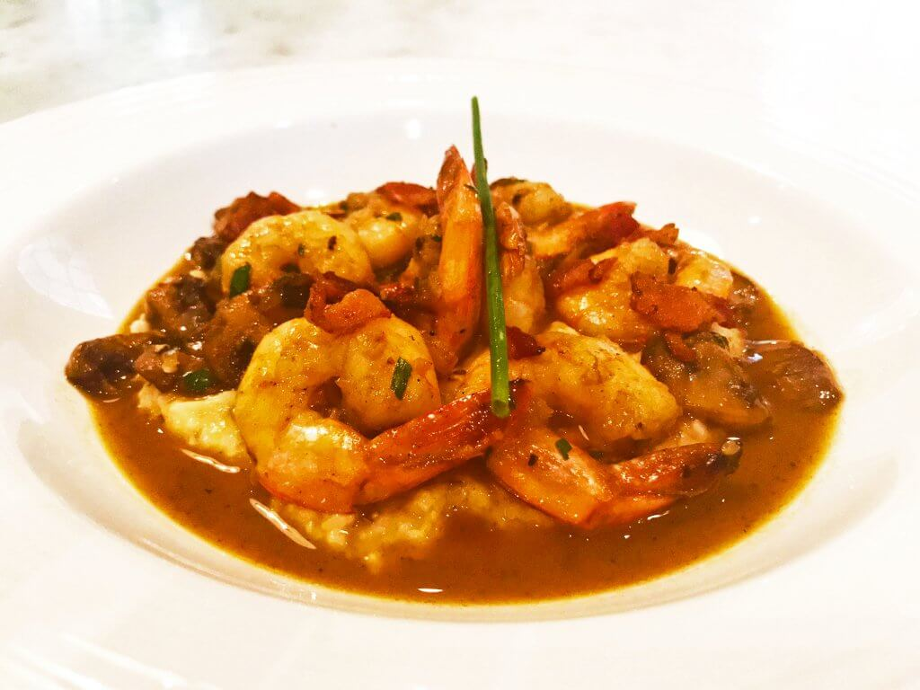 shrimp and grits around canton