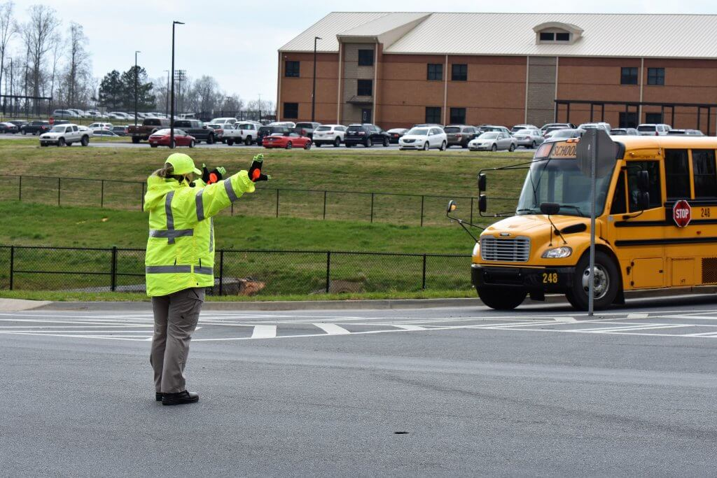 Crossing Guards around canton