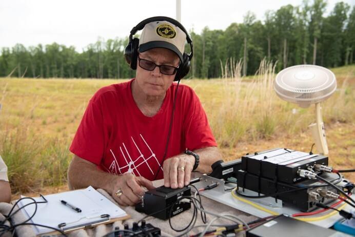 Having a Field Day With Ham Radio Operators
