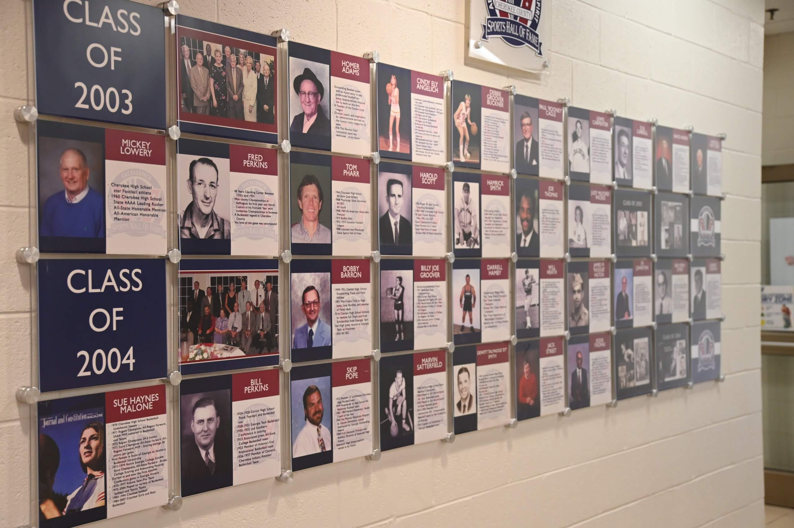 Cherokee County Sports Hall of Fame