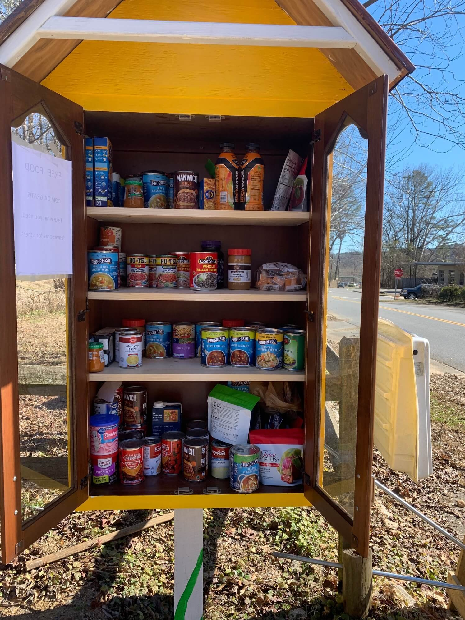 Creating Community Food Pantries is a Good Thing 'To Do'
